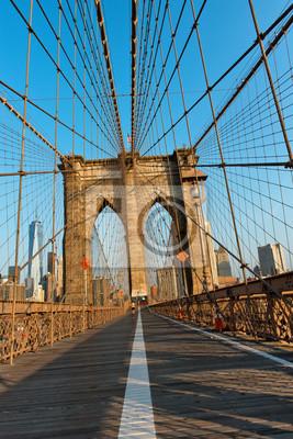Réseau de câbles de suspension Brooklyn Bridge
