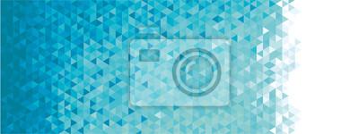 Sticker Résumé bannière géométrique