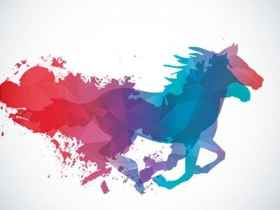 Sticker Résumé cheval