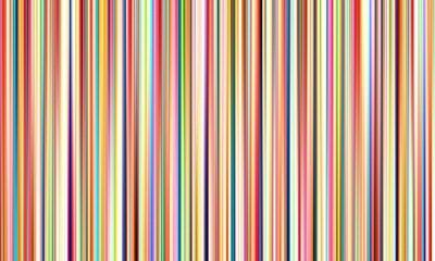 Sticker Résumé des lignes floues multicolores sur fond large