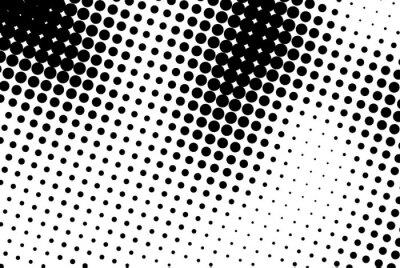 Sticker Résumé fond avec des points noirs.