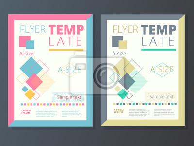 Resume Fond Entreprise Flyer Brochure Conception A4 Dimension