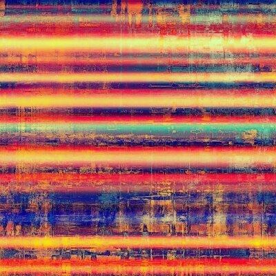 Sticker Résumé, fond, texture Avec différents motifs de couleur: jaune (beige); bleu; rouge orange); rose; Pourpre (violet)