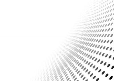 Sticker Résumé, pointillé, perspective, fond - gradient, effet, Illustration, vecteur