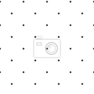Sticker Résumé, seamless, fond. Motif décoré de points, de lignes et d'hexaèdres. Raster illustration