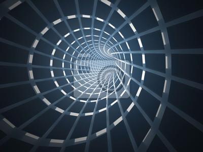Résumé, tunnel, 3D