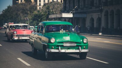 Sticker Retro: Oldtimer Havane | Cuba