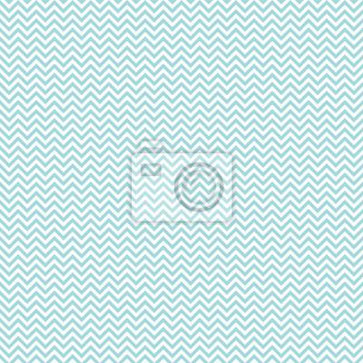 Sticker Retro, seamless, modèle, mini, Chevron, turquoise
