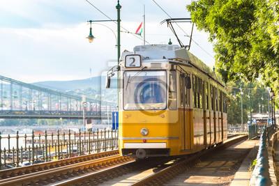 Rétro tramway à Budapest