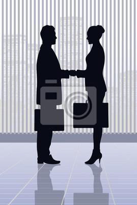 réunion d'hommes d'affaires