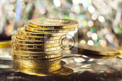 richesse, pièces de monnaie