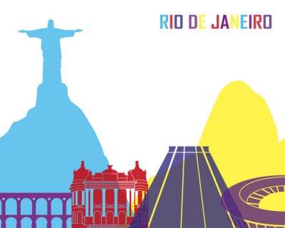 Sticker Rio de Janeiro horizon pop