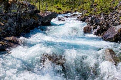 Sticker Rivière en Norvège