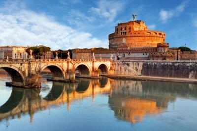 Sticker Rome - Castel Saint Angelo, Italie