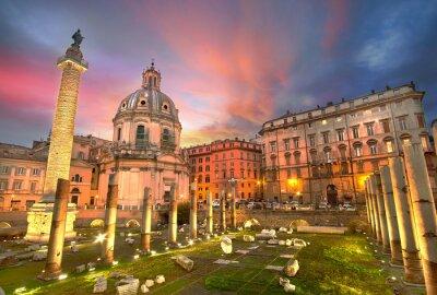 Sticker Rome Coucher du soleil