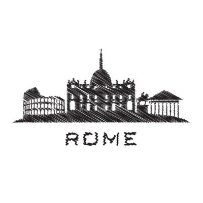 rome gribouillis