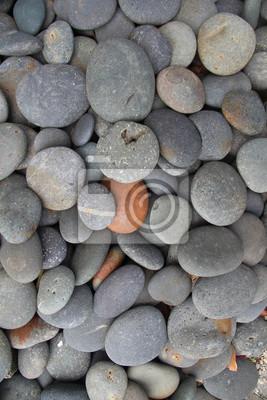 Rond, gris, rouges, pierre, texture