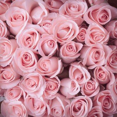 Sticker rose bouquet de fleurs vintage background