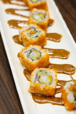 Sticker Rouleaux de sushi