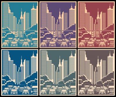 Sticker Rues de la ville