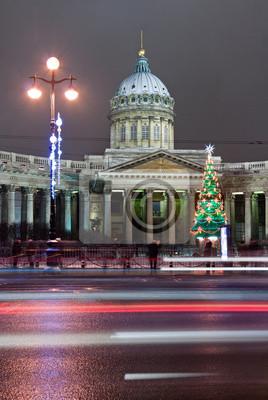 Saint-Pétersbourg, la cathédrale de Kazan