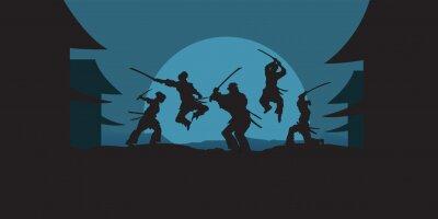 Sticker Samurai Action