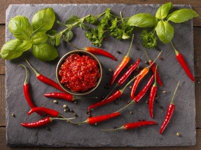 Sticker sauce chili