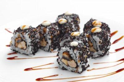Sticker Savoureux sushi