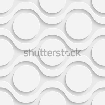 Sticker Seamless Tech Pattern