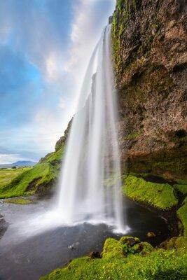 Sticker Seljalandsfoss cascade