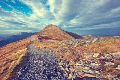 Sticker sentier de montagne