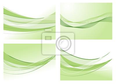 sfondo Onda Verde