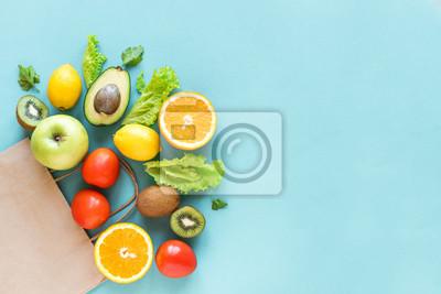 Sticker Shopping healthy food