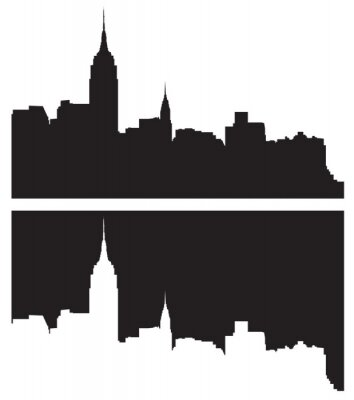 Sticker Skyline de New York