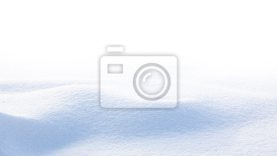 Sticker Snow wave isolated on white background