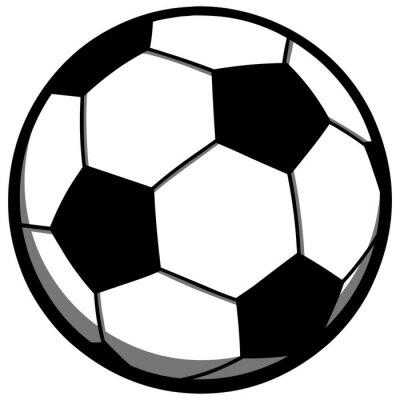 Sticker Soccer Ball