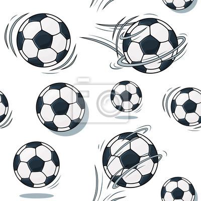 Soccer ball texture. Football réglé motif.