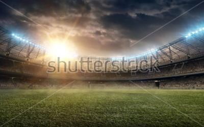 Sticker soccer field