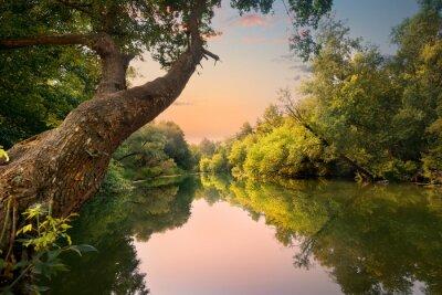 Soirée sur le fleuve