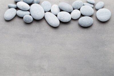 Sticker Spa pierres traitement scène, zen comme des concepts.