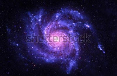 Sticker Spirale Galaxy - Éléments de cette image fournie par la NASA