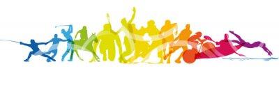 Sticker Sport, gare, competizioni