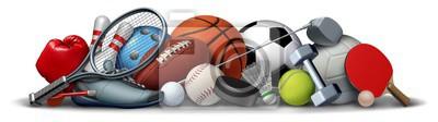 Sticker Sport Objects