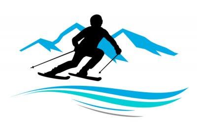 Sticker Sports d'hiver - 13