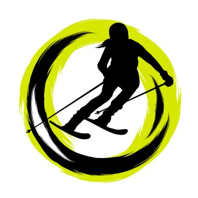 Sticker Sports d'hiver - 23