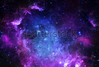 Sticker Starfield - Éléments de cette image fournie par la NASA