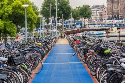 Sticker Stationnement pour vélos à Amsterdam