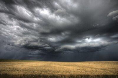 Sticker Storm Clouds Saskatchewan