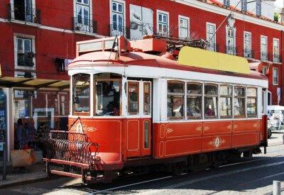 Sticker STRASSENBAHN à Lisbonne