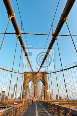 Structure du pont de Brooklyn